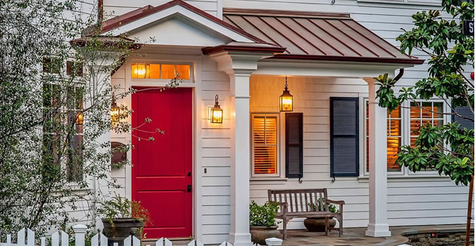 Exterior High Quality Painting Raleigh Door painting in Raleigh